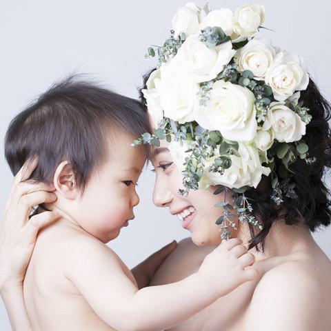 HANANINGEN with baby